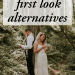 Keep Tradition With One of These Sweet First Look Alternatives