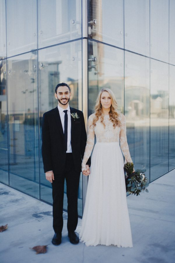 Lush Industrial El Segundo Wedding at Smoky Hollow Studios