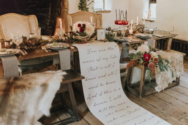 This Game Of Thrones Wedding Inspiration Is The Cure To Your Westeros Withdrawals Junebug Weddings