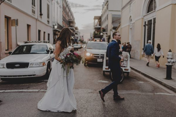 This Hotel Mazarin Wedding Showcased New Orleans Charm For Out Of Town Guests Junebug Weddings