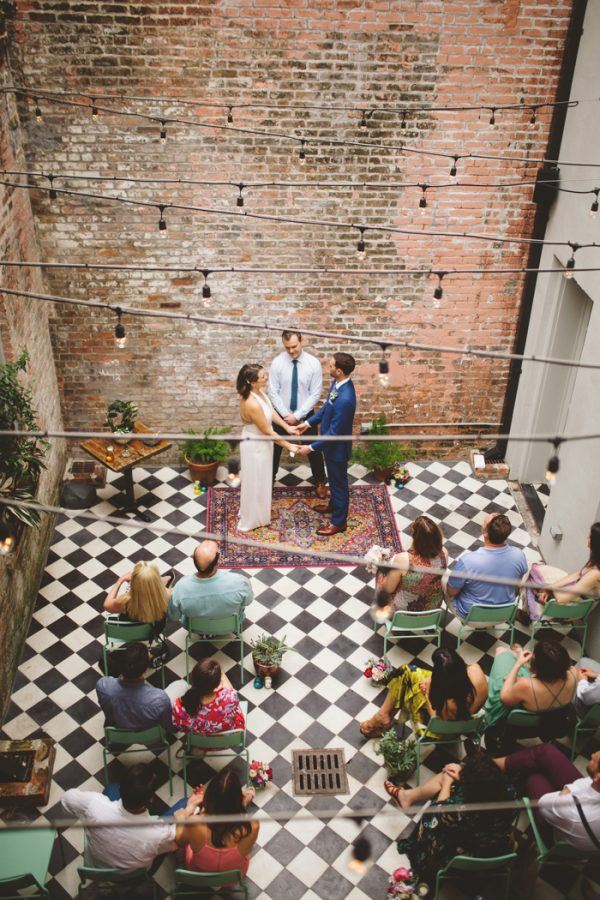 Intimate and Quirky New Orleans Wedding at The Catahoula Hotel ...