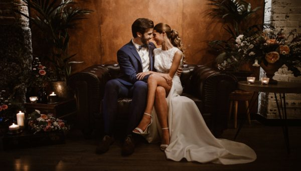 Mid-Century Modern Wedding Inspiration at La Mula de Moscú ...