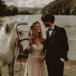 This Swiss Fairy Tale Wedding at Gasthaus Schupfen Includes a Literal White Stallion