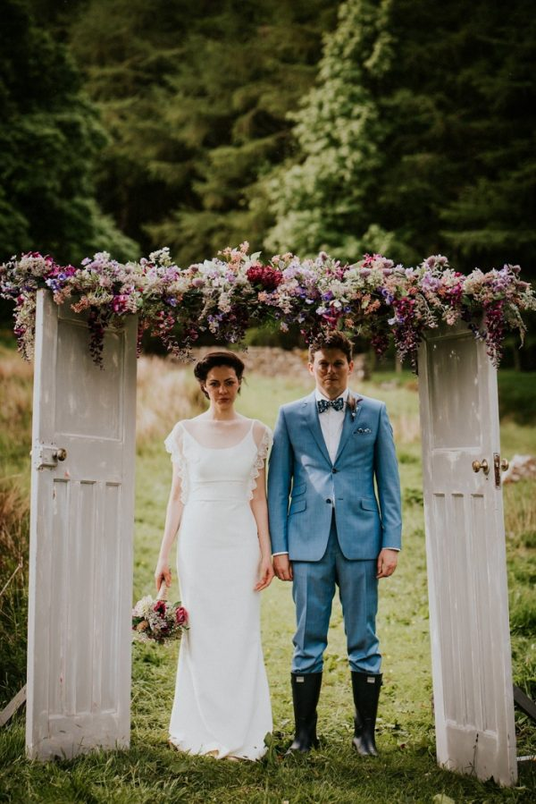 This Couple Built Their Charming Yorkshire Wedding From The Ground