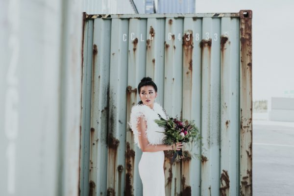 This Storage Facility Wedding Inspiration is Way More Gorgeous ...