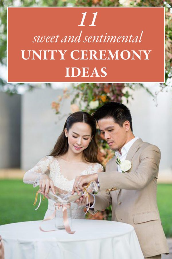 11 Sweet and Sentimental Unity Ceremony Ideas | Junebug Weddings