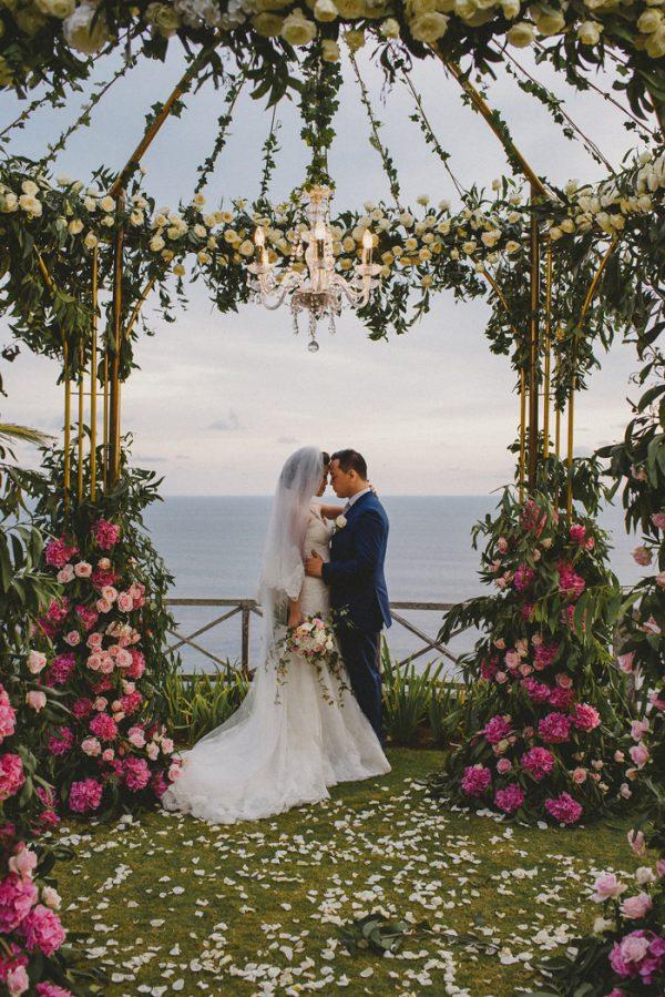 Vintage Glam Bali Wedding At Khayangan Estate Junebug Weddings