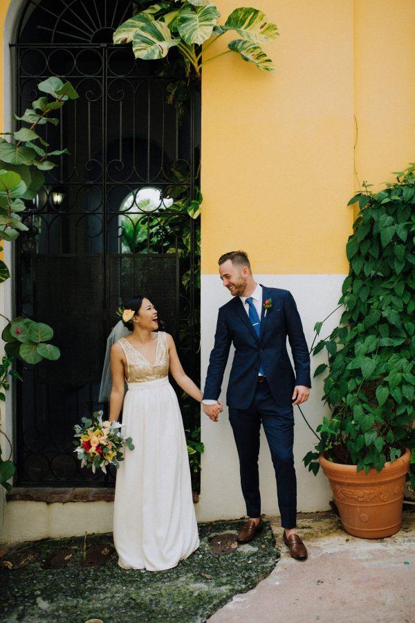 Low-Key Glam Destination Wedding in Old San Juan, Puerto ...