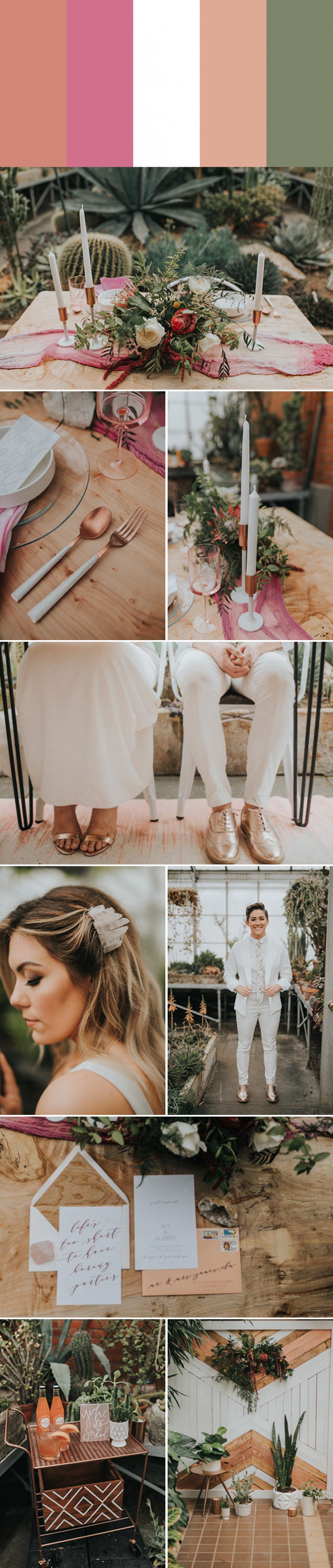 6 Metallic Wedding Color Palettes That Dazzle and Shine ...