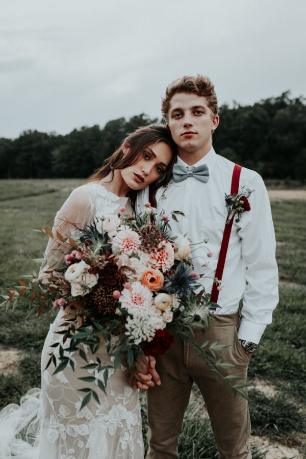 Rustic Fall Wedding Inspiration At The Farmstead In North Carolina Junebug Weddings