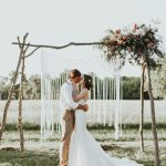 This Sentimental Oklahoma Wedding at Home Has the Perfect Fall Color Palette