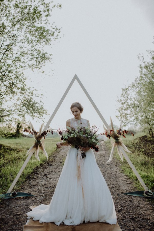 Unique Fall Elopement Inspiration in a German Quarry ...