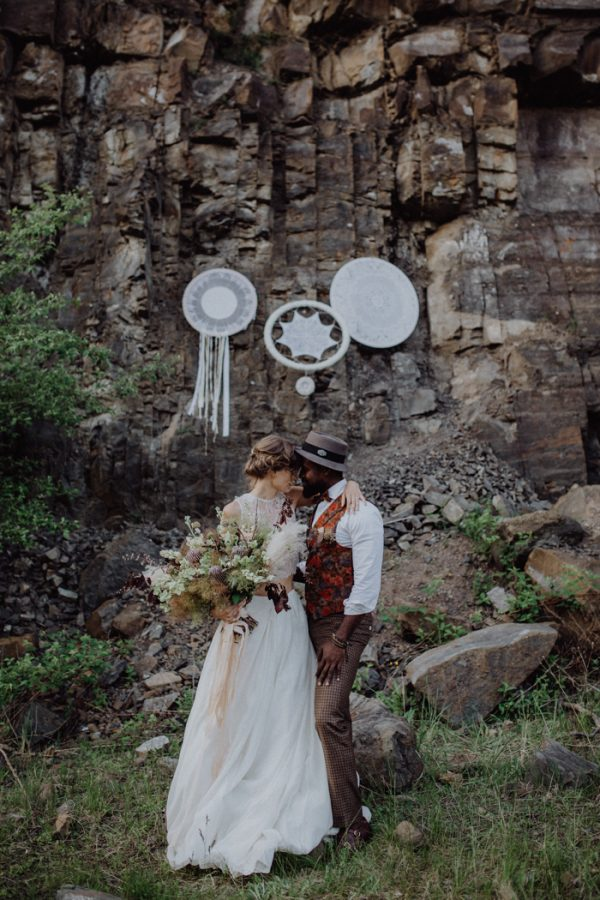 germany wedding wedding blog posts archives junebug weddings Wedding Blog Germany this fall elopement styled shoot from julia and gil photography and team of leading german industry professionals in an abandoned quarry in germany balances wedding blog germany