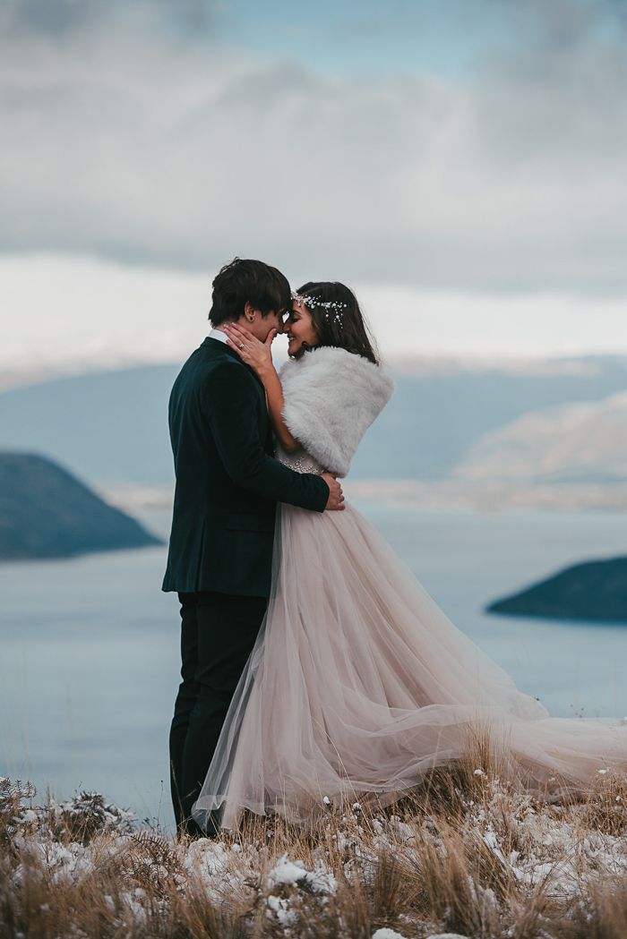 Once You Land Your Eyes On This Helicopter Elopement In New Zealand I Promise Ll Be Reaching For Pport Phillippa And Oliver S