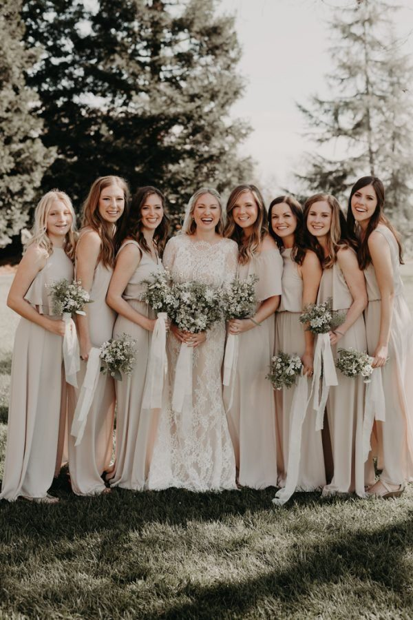 Photo By Alyssa Luzaich Photography Bridesmaids Dresses Show Me Your Mumu See More From This Wedding Here