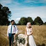 Blue Ombré Wedding Inspiration from The Big Fake Wedding Seattle