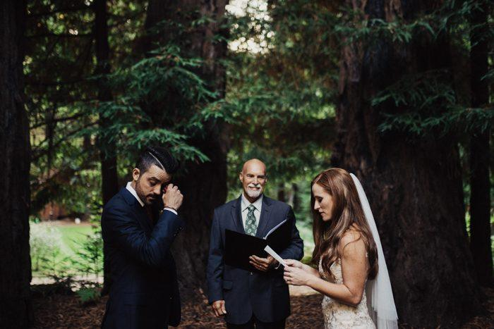 we choose to have our ceremony in the redwoods in big sur the redwoods to me symbolized long lasting beauty and strength i think of a better place