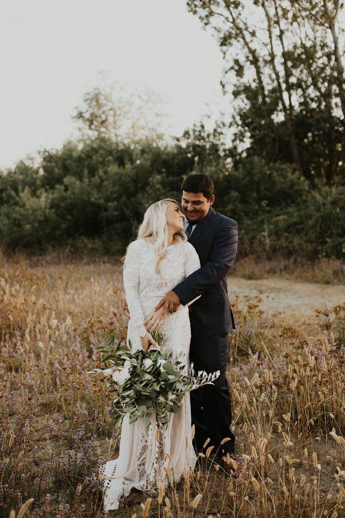 This Bride Transformed Her Childhood Home Into An Epic California Backyard  Wedding Venue | Junebug Weddings