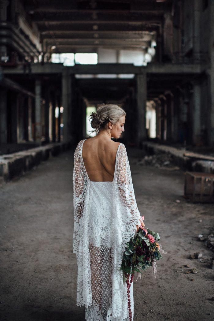 Chic Norwegian Wedding At Lageret Studio In Oslo