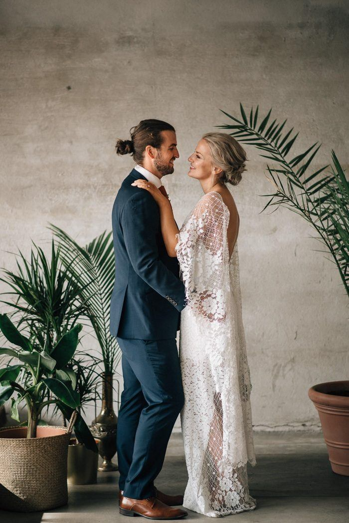 Mellie And Hamishs Norwegian Australian Wedding At Lageret Studio A Converted Paper Factory Full Of Raw Industrial Beauty Was Roller Coaster Emotion