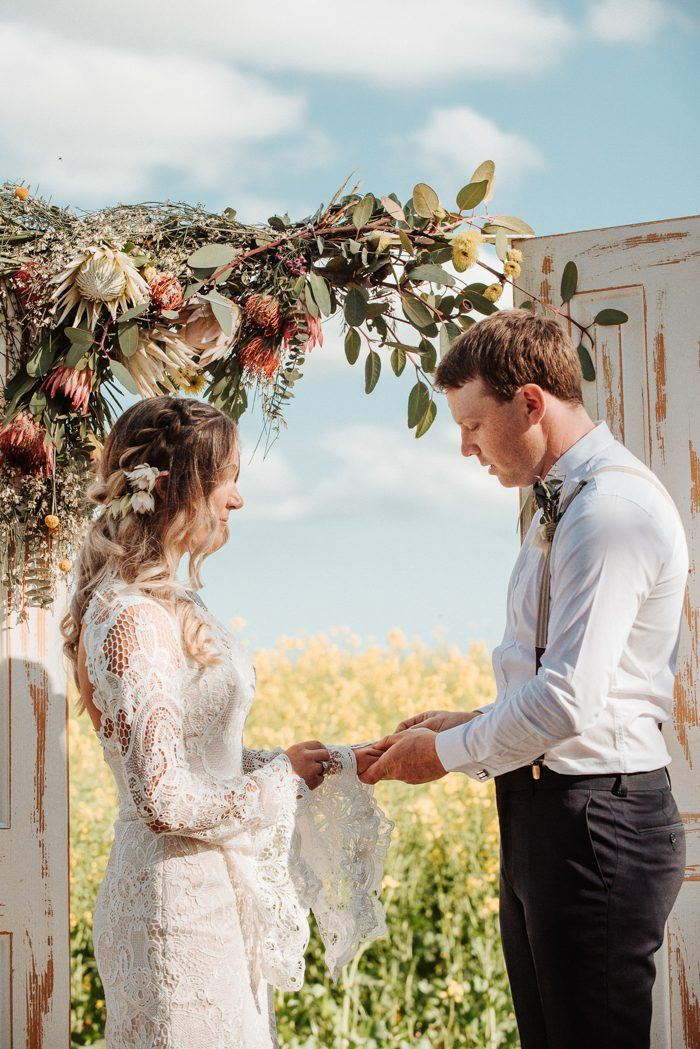 Countryside Chic Western Australia Farm Wedding
