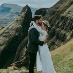 This Couple Got Cozy on a Cliff for Their Isle of Skye Elopement