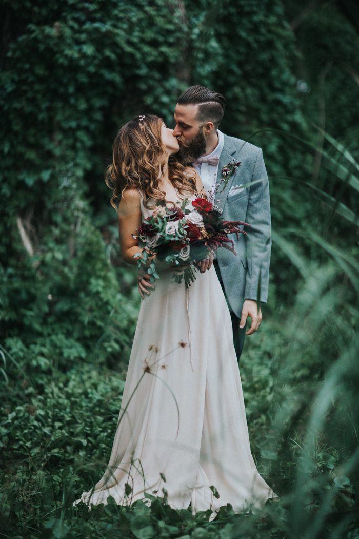 Earthy Elegant Wedding At Perth City Farm
