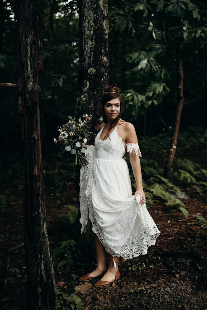 Folksy Appalachian Mountain Elopement Inspiration
