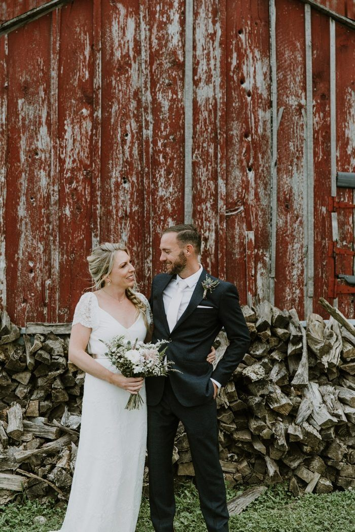 Laid Back Country Wedding At Cambium Farms In Caledon Ontario