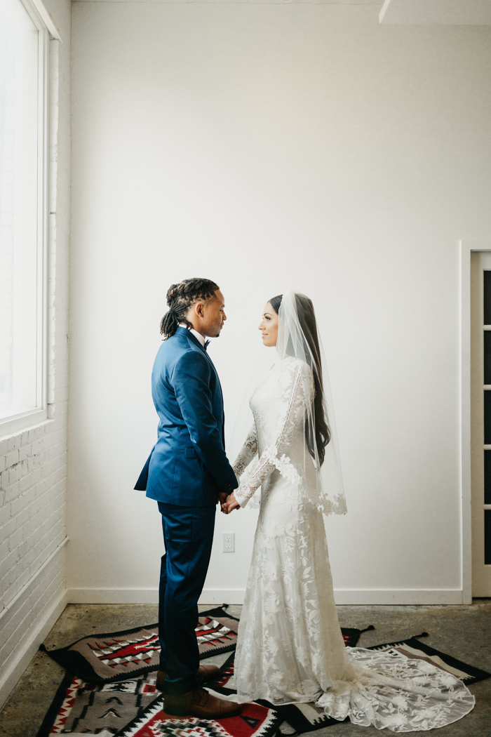 Minimalist Glam Utah Wedding at Studio Elevn