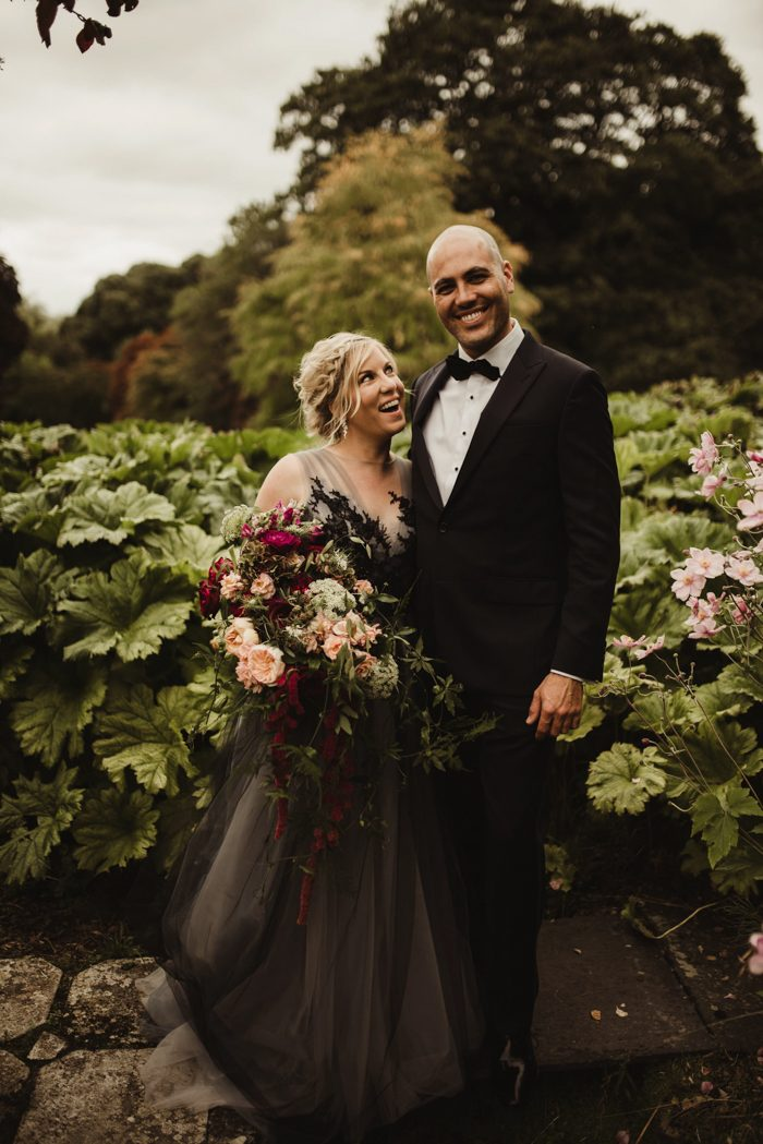 Nontraditional Irish Wedding at Mount Juliet Estate with a Gothic ...