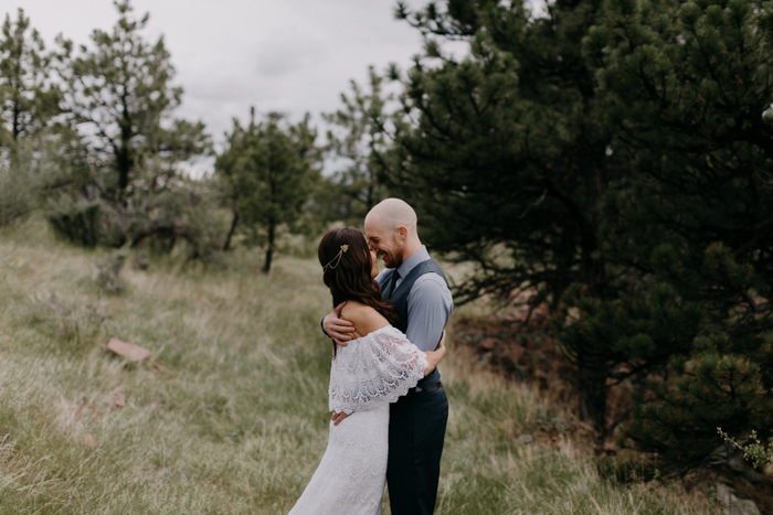 Rainy Colorado Mountain Wedding at Planet Bluegrass