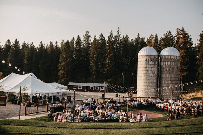 This Coeur D'Alene Wedding At Settlers Creek Is An Outdoor