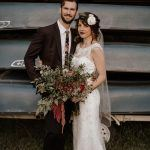 This Nashville Camp Wedding is Full of Fall Tones
