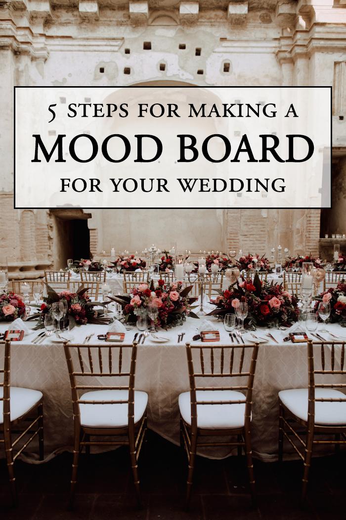 5a41dd8a10c8 5 Steps for Making a Wedding Mood Board | Junebug Weddings