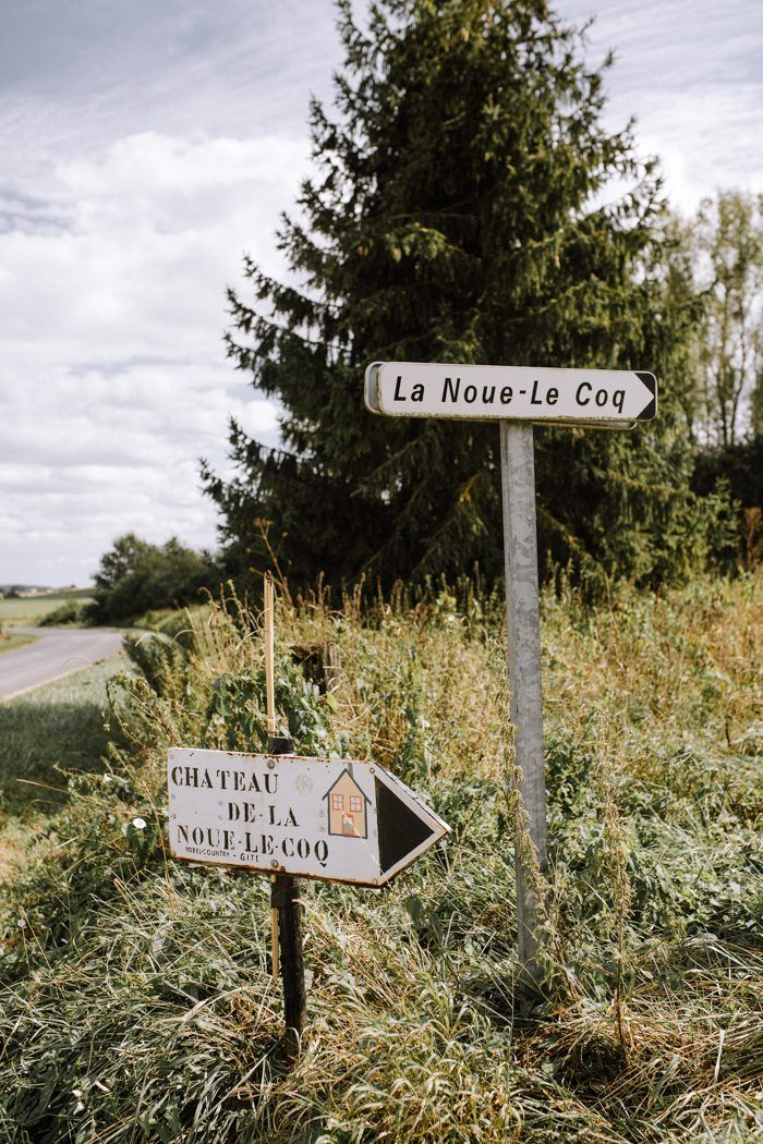 Youre Going To Want To Book A Castle Venue After Seeing This Chateau De La Noue Le Coq Wedding