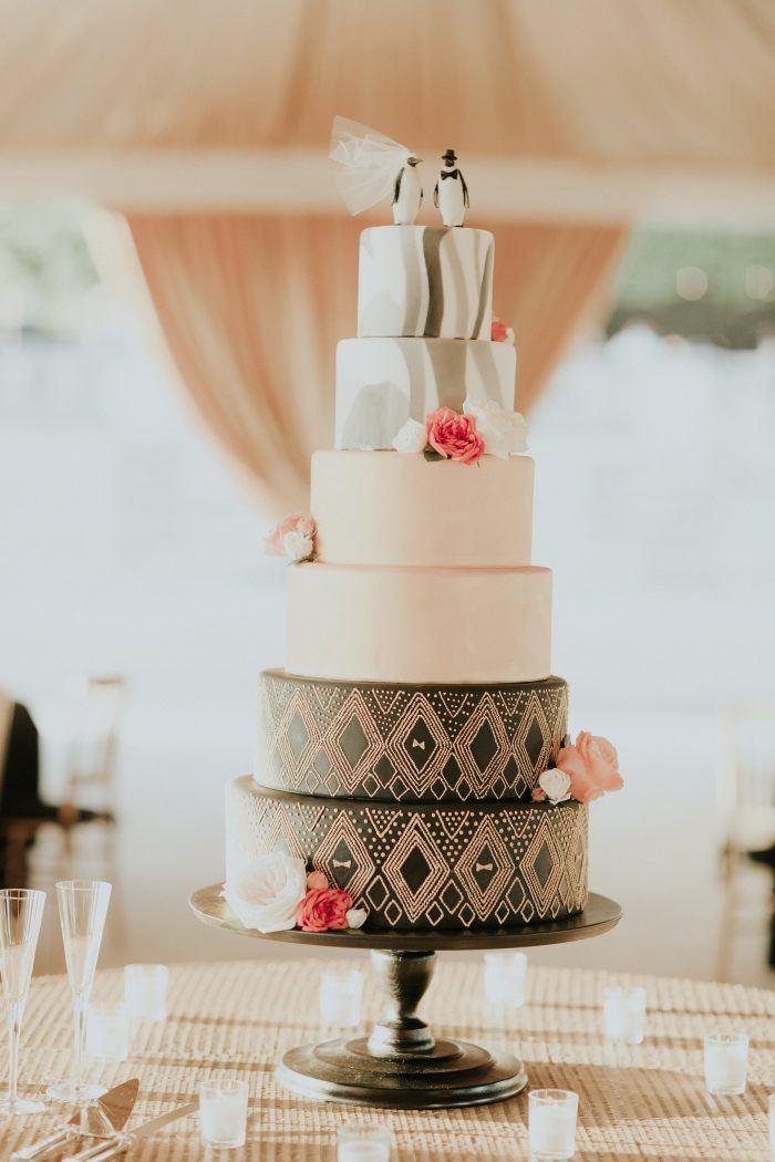 Hazelnut Wedding Cake