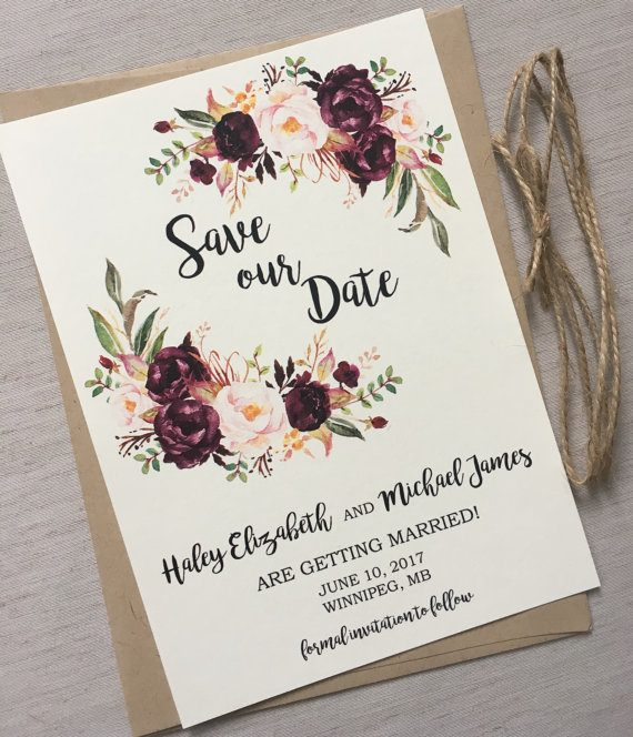 The Best Etsy Save the Dates to Announce Your Wedding ...