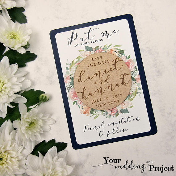 2b0f2891cae93 The Best Etsy Save the Dates to Announce Your Wedding | Junebug Weddings