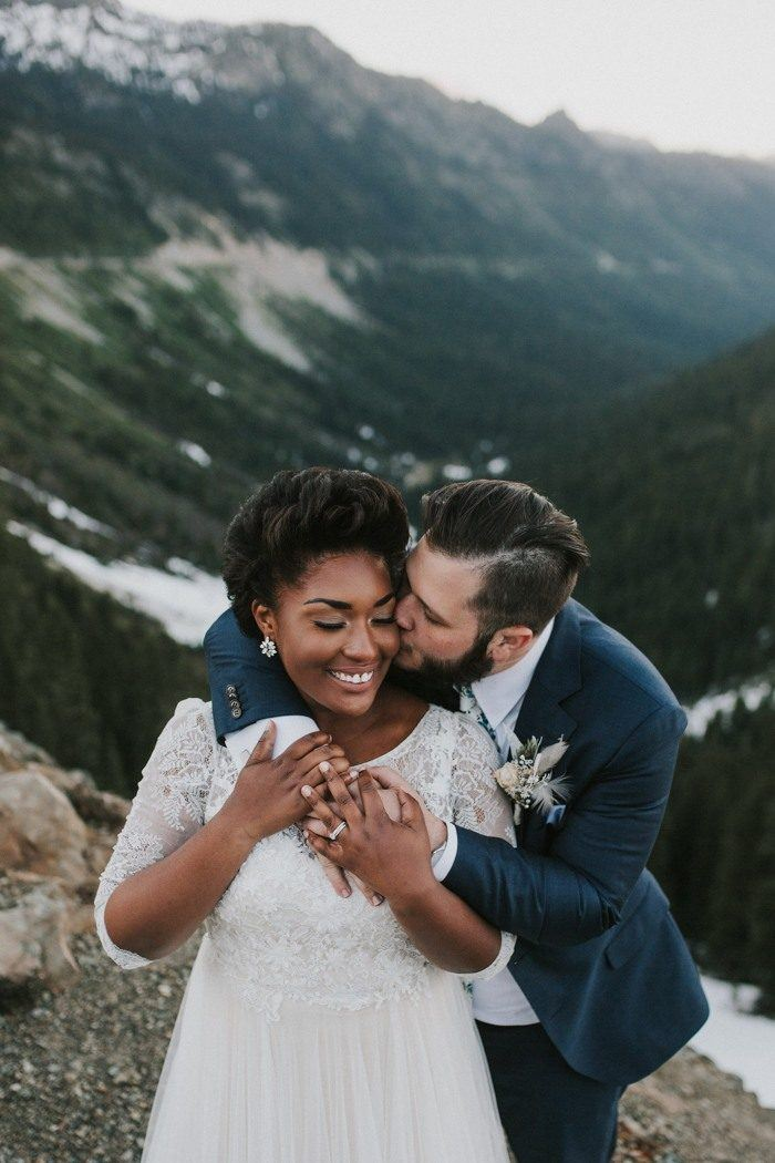 9f02ad9d964 Impossibly Romantic Mount Rainier National Park Elopement