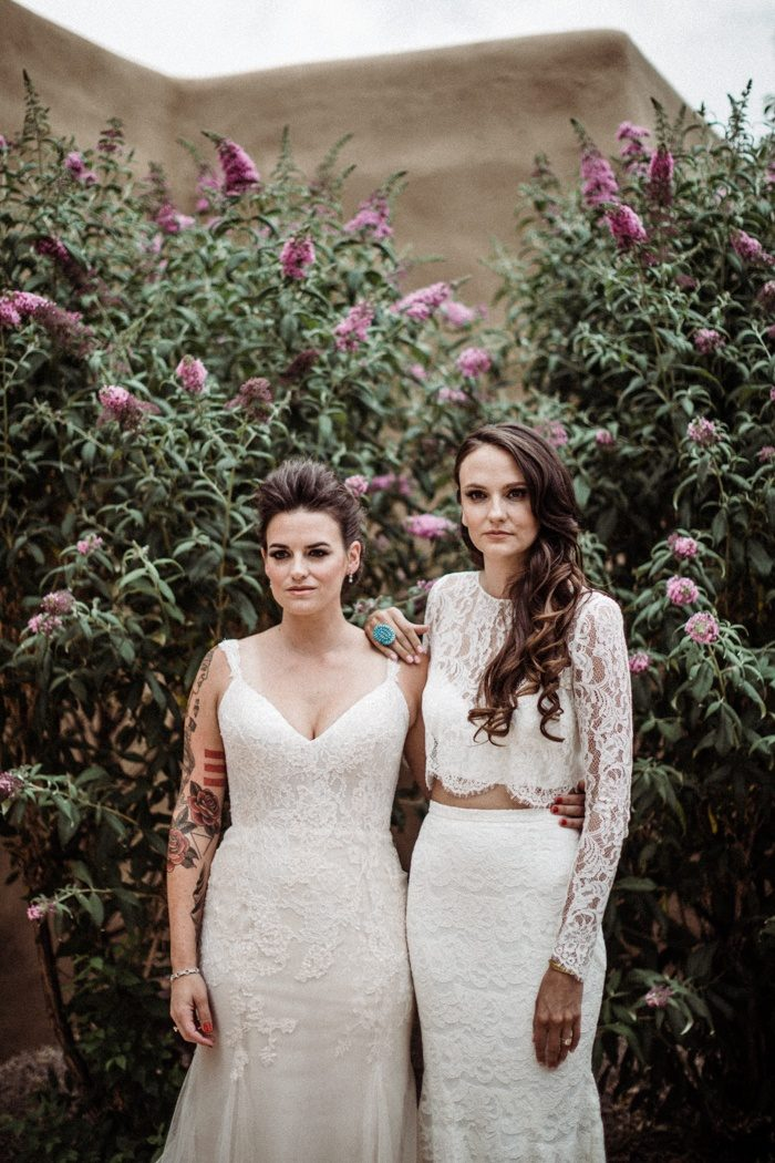 Intimate And Heartfelt La Posada De Santa Fe Wedding