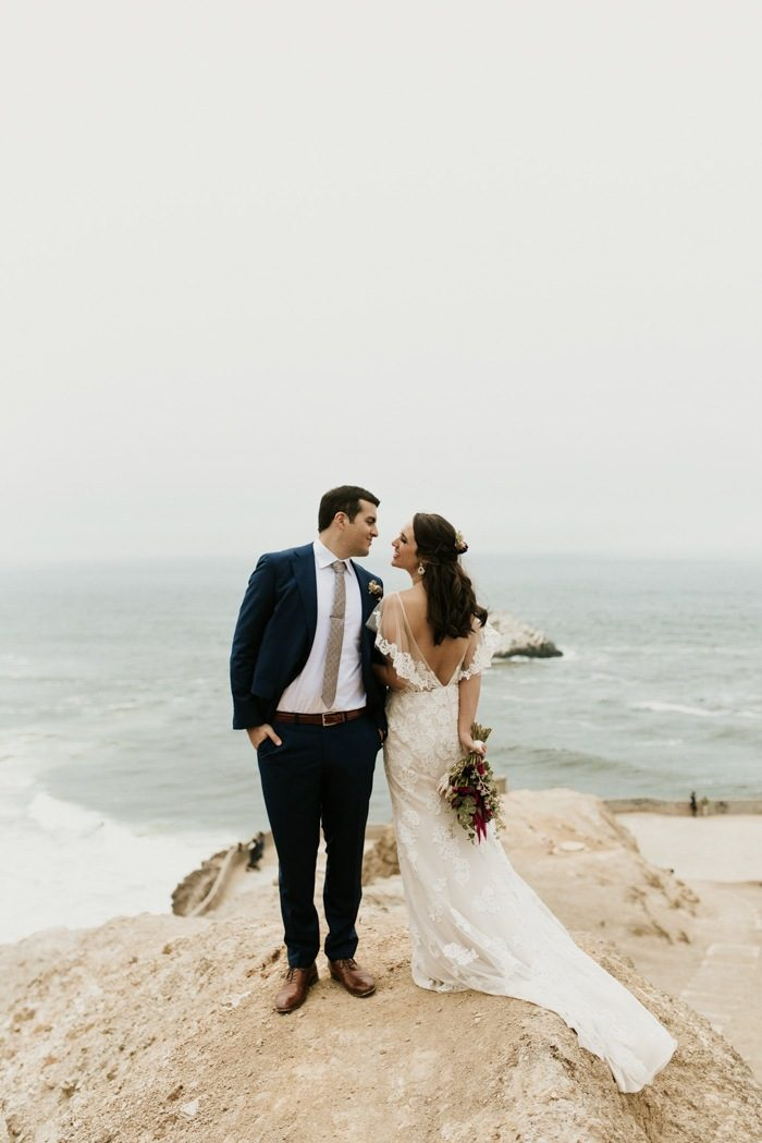 This San Francisco City Hall Elopement Ended With An Epic Sutro