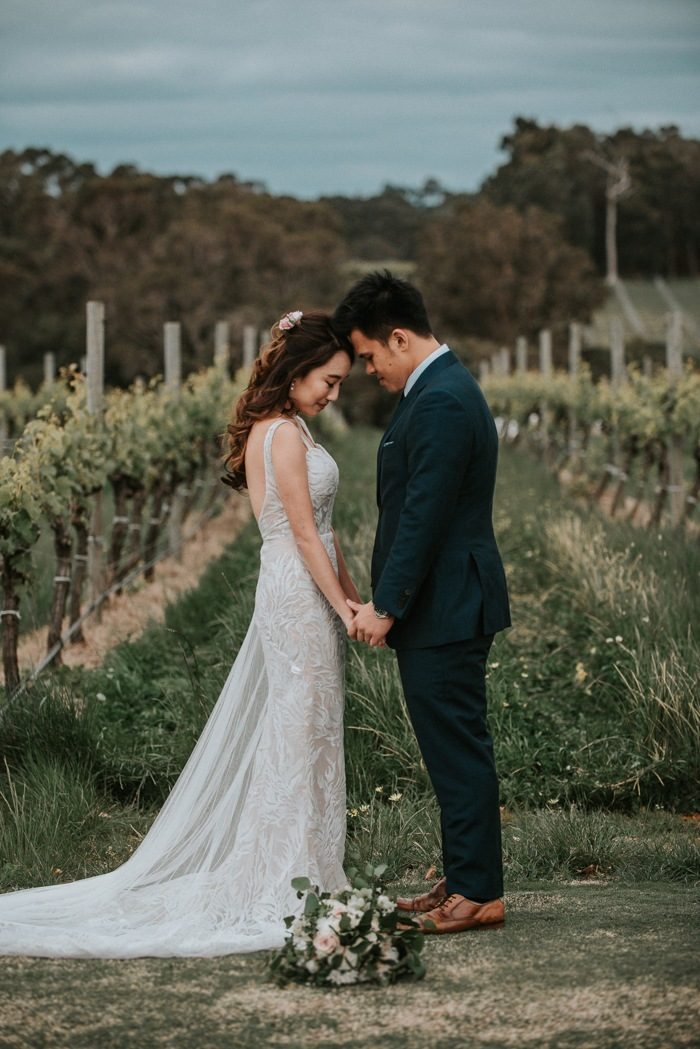 These western australia pre wedding portraits will make your jaw the wine estates and picturesque coasts of western australia were the perfect setting for shan and jasons pre wedding portraits that will be displayed junglespirit Image collections