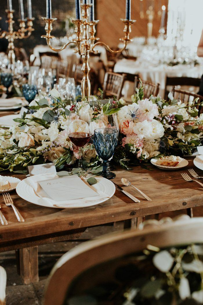 Wedding blog for real wedding ideas inspiration junebug weddings everything was such a blur but during dinner we were able to sit at the front of the room and look around at everyone this was probably the only time we junglespirit Choice Image