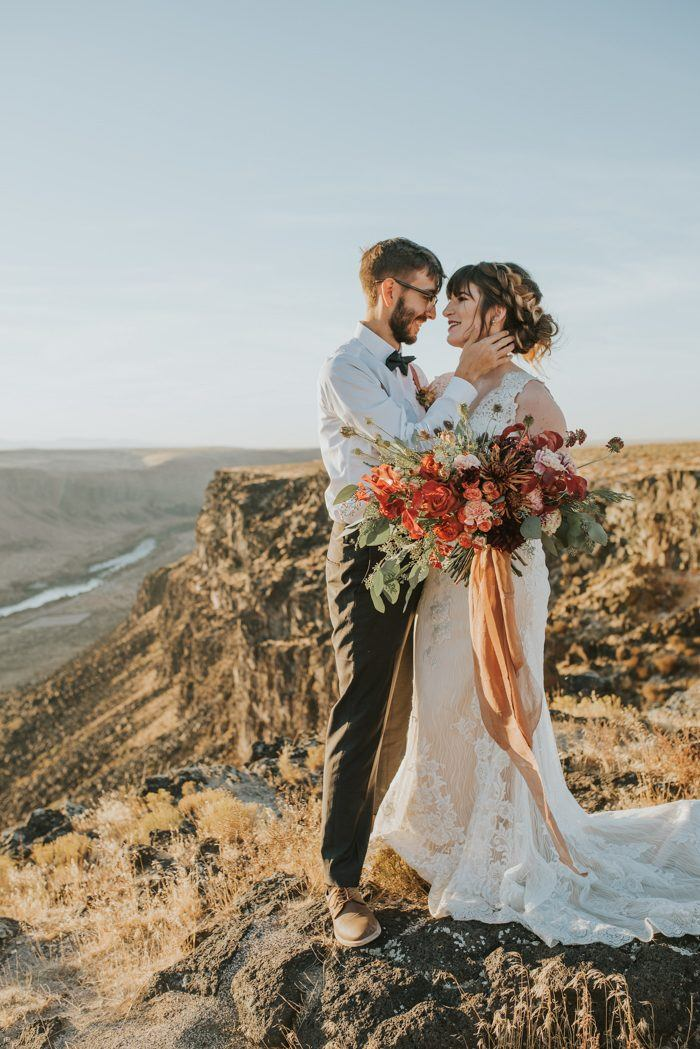 Wild Souls Will Love This Snake River Camper Elopement