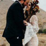 You're Gonna Wanna Copy The Rich Color Palette in This Desert Elopement Inspiration at Sycamore Canyon Trails