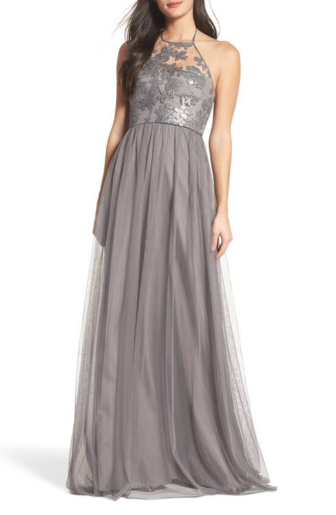 32ded31ba15 These Neutral Bridesmaids Dresses are Subtle Showstoppers