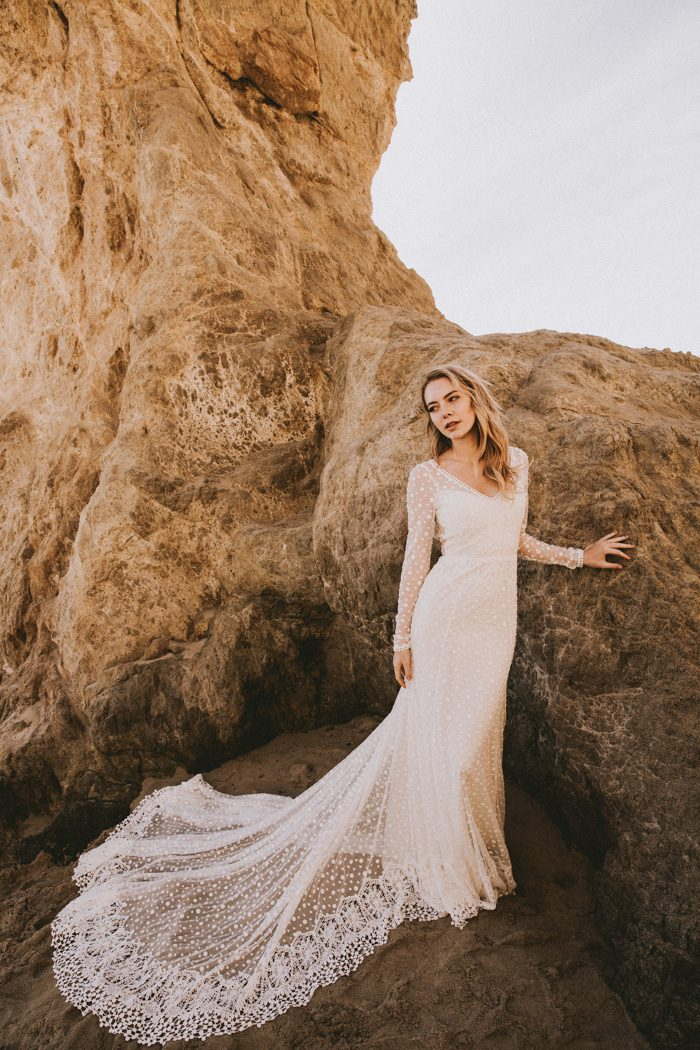 066219d2dd6 Dreamers   Lovers  New Etheria Collection is Every Bohemian Bride s ...