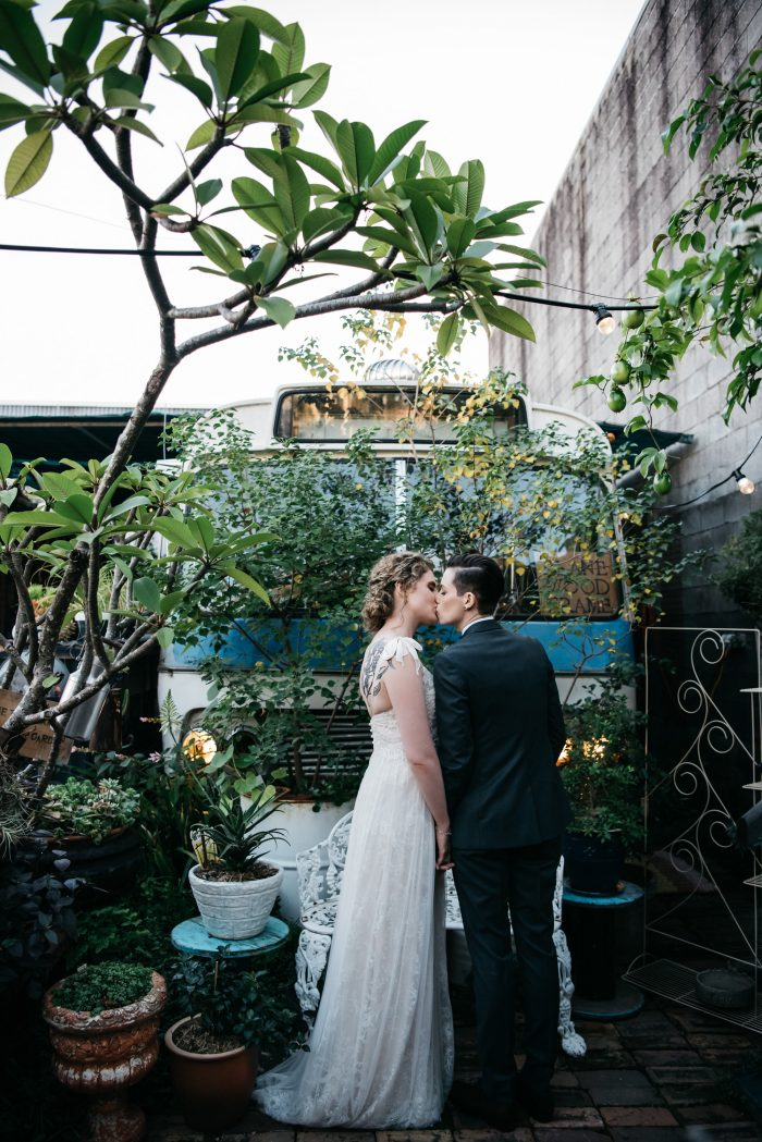 Australian wedding wedding blog posts archives junebug weddings vivien and cienwens wedding at vieille branche a creative urban garden in the heart of brisbane was a gorgeously delicate mix of emotion and beauty junglespirit Images