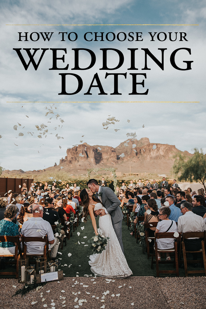 How to Choose Your Wedding Date | Junebug Weddings